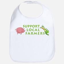 Support Local Farmers Bib
