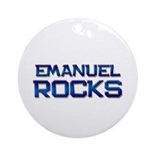 emanuel rocks Ornament (Round)