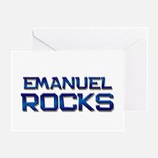 emanuel rocks Greeting Card