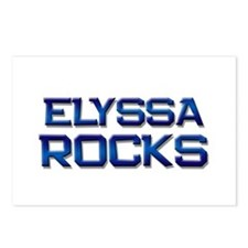 elyssa rocks Postcards (Package of 8)