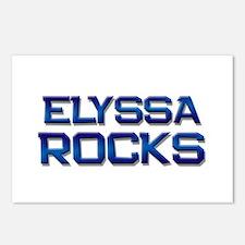 elyssa rocks Postcards (Package of 8)