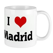 I Love Madrid Mug