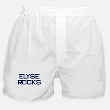 elyse rocks Boxer Shorts