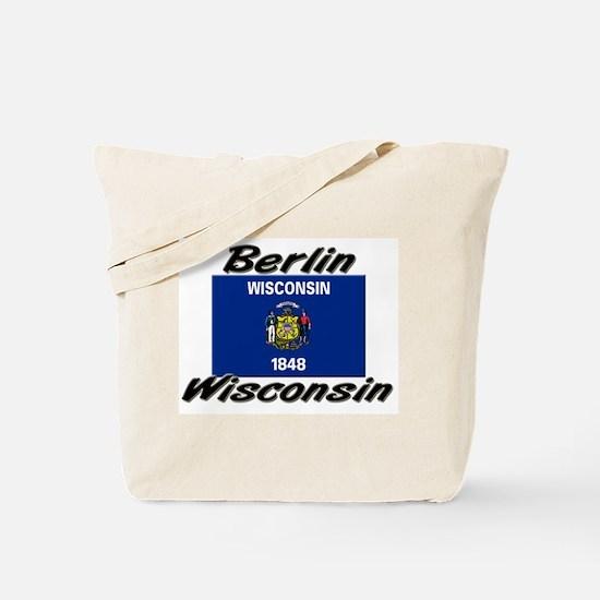 Berlin Wisconsin Tote Bag
