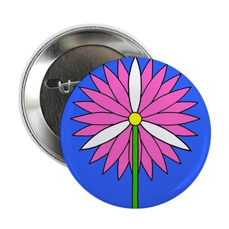 "Flower Power 2.25"" Button (100 pack)"