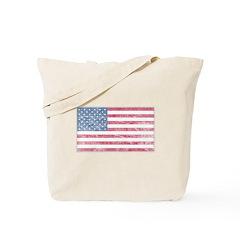 American Flag US Flag Patriot Tote Bag