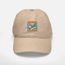 Butterfly Garden Baseball Baseball Cap