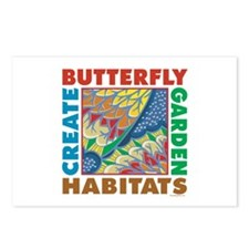 Butterfly Garden Postcards (Package of 8)