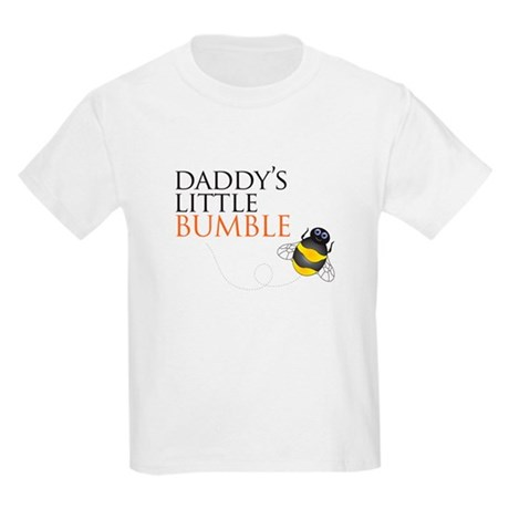 Daddy's Bumble Bee Kids Light T-Shirt