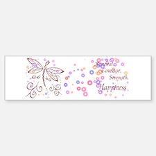 Dragonfly Daydream Sticker (Bumper)
