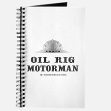 Motorman Journal, Oil Rig Notebook, Gas, Oil,