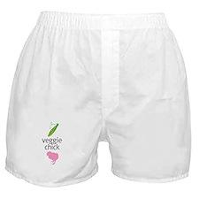 Veggie chicks Boxer Shorts