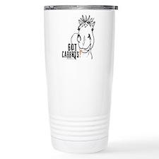 Funny Horse Travel Mug