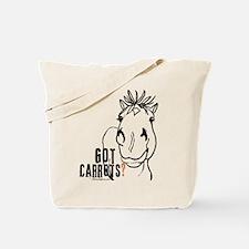Funny Horse Tote Bag