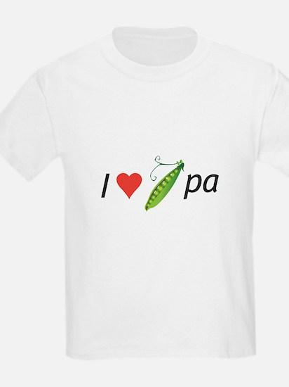 I love my pee-pa (grandpa) T-Shirt