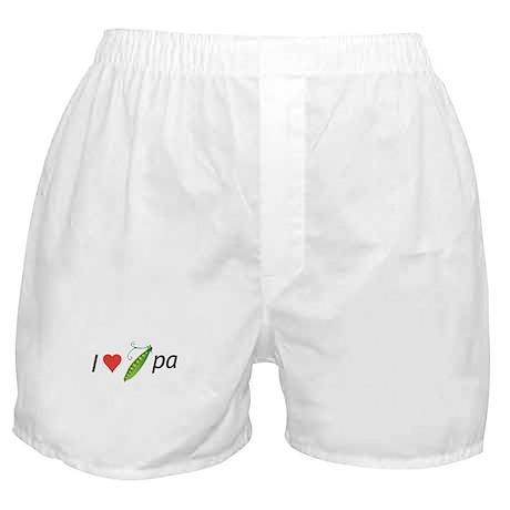 I love my pee-pa (grandpa) Boxer Shorts