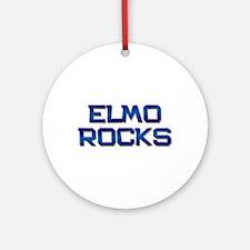 elmo rocks Ornament (Round)