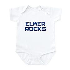elmer rocks Infant Bodysuit