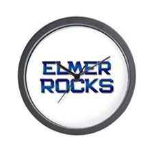 elmer rocks Wall Clock