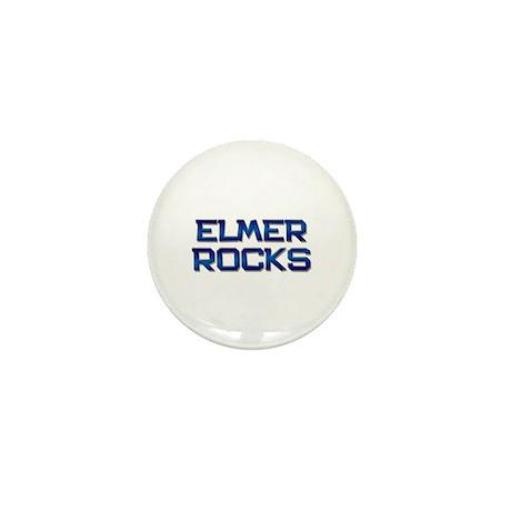 elmer rocks Mini Button