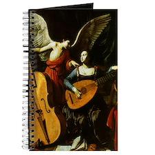 Saint Cecilia and Angel, Saraceni Journal