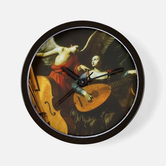 Saint Cecilia and Angel, Saraceni Wall Clock