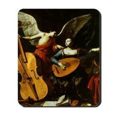 Saint Cecilia and Angel, Saraceni Mousepad