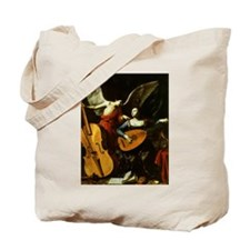 Saint Cecilia and Angel, Saraceni Tote Bag