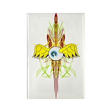 Flying Eye Rectangle Magnet