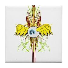 Flying Eye Tile Coaster