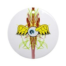 Flying Eye Ornament (Round)