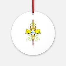 Flying Eye Ornament (Round)
