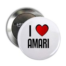 "I LOVE AMARI 2.25"" Button (10 pack)"