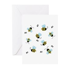 Buzzing Bees Greeting Cards (Pk of 10)