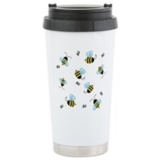 Buzzing Bees Travel Mug