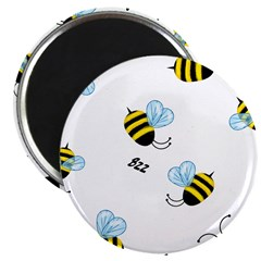 """Bees 2.25"""" Magnet (10 pack)"""