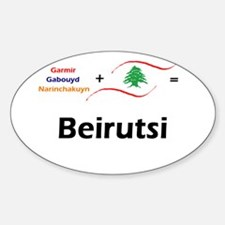 Beirutsi Oval Decal