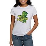 Skull & Shamrocks Women's T-Shirt