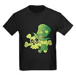 Skull & Shamrocks Kids Dark T-Shirt