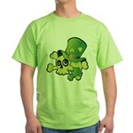 Skull & Shamrocks Green T-Shirt