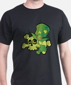 Skull & Shamrocks T-Shirt