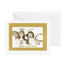 Unique Postage Greeting Cards (Pk of 10)