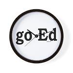 go Ed Wall Clock
