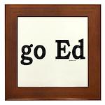 go Ed Framed Tile