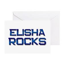 elisha rocks Greeting Card