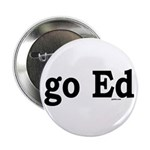 """go Ed 2.25"""" Button (100 pack)"""