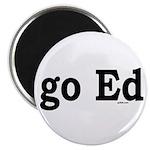 """go Ed 2.25"""" Magnet (10 pack)"""