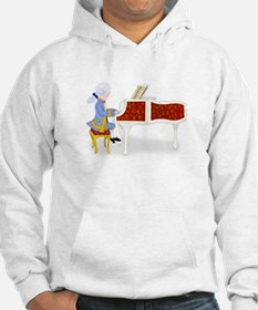Mozart at the Pianoforte Hoodie