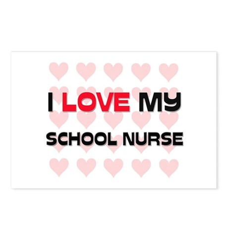 I Love My School Nurse Postcards (Package of 8)