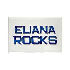 eliana rocks Rectangle Magnet